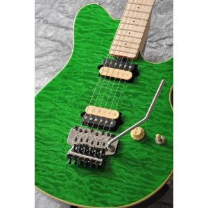 Sterling by MUSIC MAN AX40D-TGR (Translucent Green)【送料無料】【豆しぱみゅぱみゅピックセットプレゼント】【ストラップラバープレゼント】
