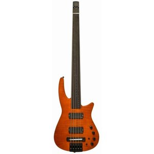 NS Design RADIUS4 Bass Fletless(Amber Satin)(フレットレスベース)(送料無料)(ストラップラバープレゼント)【ONLINE STORE】|wavehouse