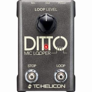 TC HELICON Ditto Mic Looper (エフェクター/2ボタン・マイクルーパー)(送料無料)(ご予約受付中)【ONLINE STORE】 wavehouse