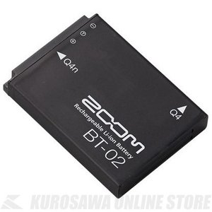 Zoom BT-02 Rechargeable Li-ion Battery for Q4 / Q4...