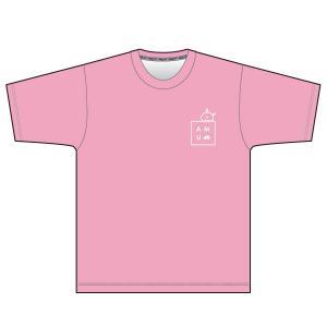 【予約商品・5月下旬発送予定】Tシャツ  もちうさぎさん ピンク 予約受付は03/31 23時まで waveone
