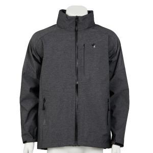 ウォータープルーフジャケット セミロング 杢グレー waveone