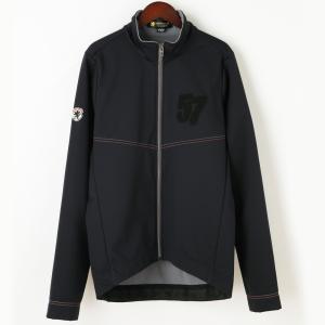 ウインドシールド57ジャケット サガラ刺繍 ブラック waveone