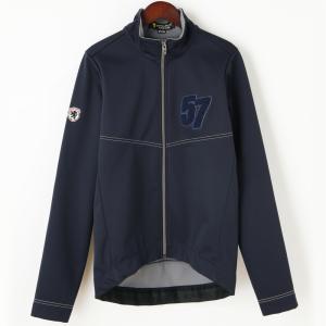 ウインドシールド57ジャケット サガラ刺繍 ネイビー waveone