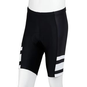 UVカットサイクルショーツ ブラック×ホワイト|waveone