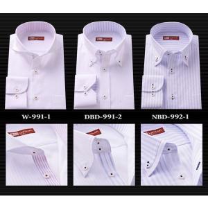 長袖ワイシャツ・綿100% 高級スリムドレスシャツ 6TYPE  ・形態安定加工・ワイシャツ・Yシャツ|wawajapan|02