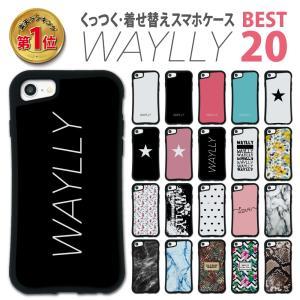 iPhone 8 7 XR XS X 6s 6 Plus XsMax ケース スマホケース ベスト20 耐衝撃 シンプル おしゃれ くっつく ウェイリー WAYLLY _MK_|waylly
