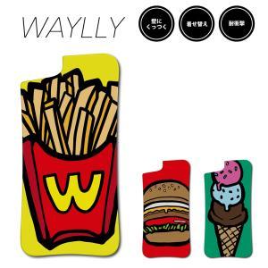ドレッサーのみ iPhone 8 7 XR XS X SE 6s 6 Plus XsMax 11 pro max ケース スマホケース ポップフード 耐衝撃 おしゃれ くっつく ウェイリー WAYLLY DRR|waylly