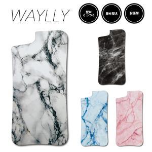 ドレッサーのみ iPhone 8 7 XR XS X 6s 6 Plus XsMax 11 pro max ケース スマホケース 大理石 耐衝撃 シンプル おしゃれ くっつく ウェイリー WAYLLY DRR|waylly