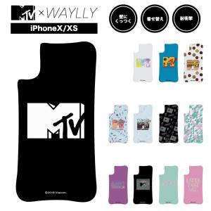 ドレッサーのみ iPhone XS X ケース スマホケース MTVオリジナル 耐衝撃 シンプル おしゃれ くっつく ウェイリー WAYLLY DRR|waylly