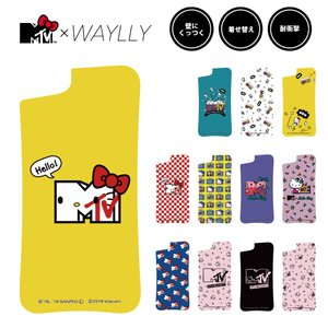 ドレッサーのみ iPhone 8 7 XR XS X 6s 6 Plus XsMax ケース スマホケース  MTV×ハローキティ 耐衝撃 シンプル おしゃれ くっつく ウェイリー WAYLLY DRR|waylly