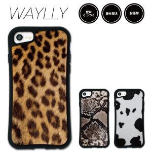 iPhone 8 7 XR XS X SE 6s 6 Plus XsMax 11 pro max ケース スマホケース アニマル 耐衝撃 シンプル おしゃれ くっつく ウェイリー WAYLLY _MK_|waylly