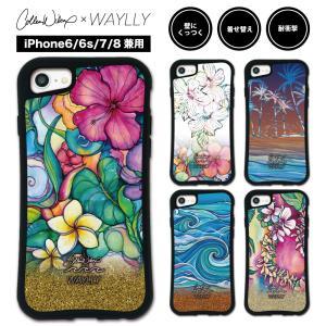 iPhone8 7 6s 6 ケース スマホケース Colleen Malia Wilcox 耐衝撃 シンプル おしゃれ くっつく ウェイリー WAYLLY _MK_|waylly