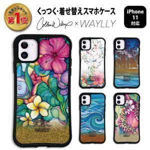 iPhone11 ケース スマホケース Colleen Malia Wilcox 耐衝撃 シンプル おしゃれ くっつく ウェイリー WAYLLY _MK_|waylly