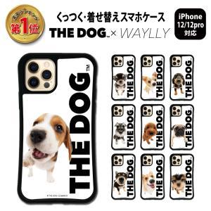iPhone12 Pro 12ケース スマホケース THEDOG 耐衝撃 シンプル おしゃれ くっつく ウェイリー WAYLLY _MK_|waylly