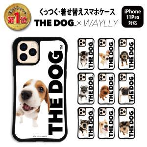 iPhone11 Pro ケース スマホケース THEDOG 耐衝撃 シンプル おしゃれ くっつく ウェイリー WAYLLY _MK_|waylly