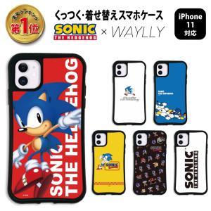 iPhone11 ケース スマホケース ソニック・ザ・ヘッジホッグ 耐衝撃 シンプル おしゃれ くっつく ウェイリー WAYLLY _MK_|waylly