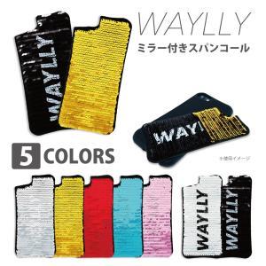 iPhone 8 7 XR XS X SE 6s 6 Plus XsMax 11 pro max ケース スマホケース スパンコール 耐衝撃 シンプル おしゃれ くっつく ウェイリー waylly