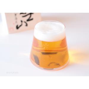 富士山宝永ガラス 父の日ギフト 敬老の日 田島硝子 木箱入 送料無料 |wayukan