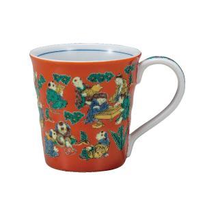 マグカップ 男性/女性 誕生日プレゼント 九谷焼 木米|waza