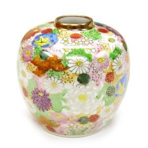 陶器 一輪挿し 九谷焼  花詰|waza