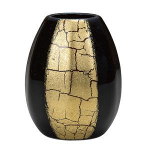 陶器 一輪挿し 九谷焼  金箔彩|waza