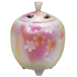 九谷焼 陶器 香炉 花園 waza