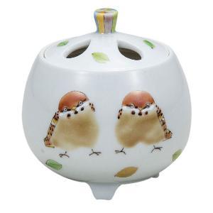九谷焼 陶器 香炉 ひなたぼっこ waza