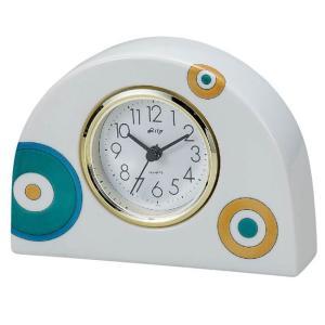 九谷焼 陶器 置時計 心円|waza
