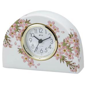 九谷焼 陶器 置時計 色彩花|waza