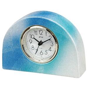 九谷焼 陶器 置時計 銀彩|waza