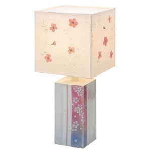 九谷焼 陶器 ランプスタンド 桜|waza