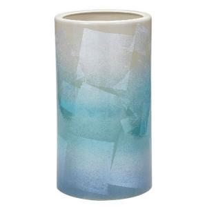 九谷焼 陶器 傘立て 銀彩|waza