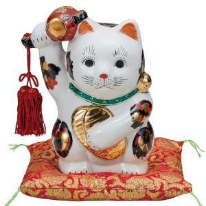 ★店長のおすすめポイント! 普通、招き猫の右手は金運を招きます。しかしこのネコくんはなんと、その右手...
