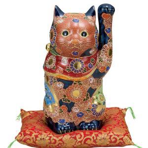 開運!九谷焼 左手招き猫 盛|waza
