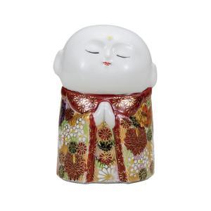 風水 置物 九谷焼 お地蔵様 金花詰|waza