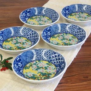 おしゃれ 和食器 鉢物 九谷焼 小鉢5個セット 吉田屋 waza