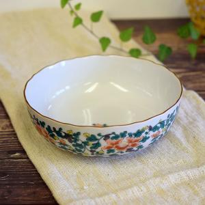新築内祝い お返し ギフト 九谷焼 盛鉢 牡丹唐草 和食器 鉢物 waza