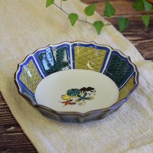 新築祝い お返し 品物 九谷焼 盛鉢 小紋野菜 陶器 和食器 鉢物 waza