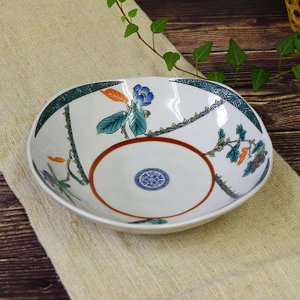 新築内祝い お返し 贈り物 九谷焼 盛鉢 花ごよみ 陶器 和食器 鉢物 waza
