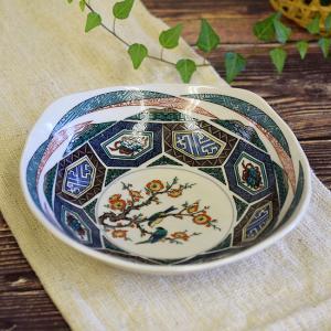 新築祝い お返し 品物 九谷焼 盛鉢 古九谷風 陶器 和食器 鉢物 waza