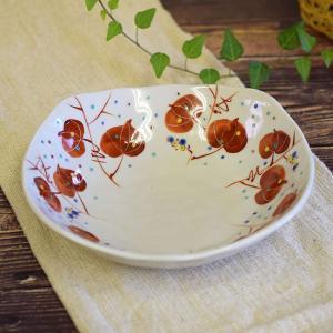 結婚祝い お返し 品物 九谷焼 盛鉢 山帰来 陶器 和食器 鉢物 waza