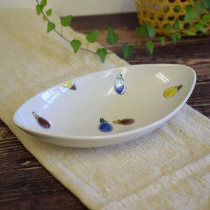 結婚内祝い お返し ギフト 九谷焼 盛鉢 色なす 陶器 和食器 鉢物 waza
