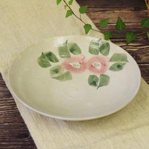 結婚祝い お返し 品物 九谷焼 盛鉢 染付ピンク椿 陶器 鉢物 waza