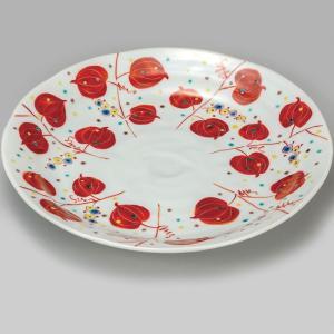 結婚祝い お返し 九谷焼 盛皿 山帰来 陶器 和食器 盛り皿 日本製|waza