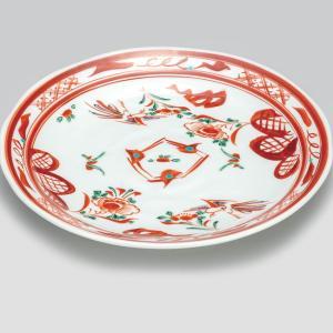 結婚祝い お返し 九谷焼 盛皿 赤絵 陶器 和食器 盛り皿 日本製|waza