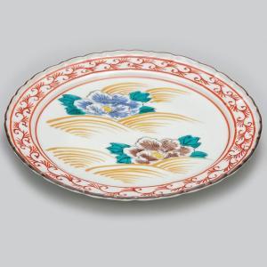 結婚祝い お返し 九谷焼 盛皿 牡丹 陶器 和食器 21cm 盛り皿 日本製|waza