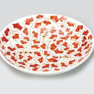 新築祝い お返し 九谷焼 盛皿 野ぶどう 陶器 和食器 27cm 盛り皿 日本製|waza