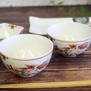 喜寿のお祝い 品 九谷焼 夫婦茶碗 赤絵|waza