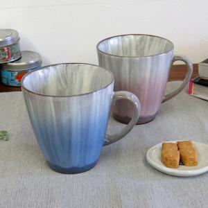 古希祝い ギフト 九谷焼 ペアマグカップ 釉彩 日本製 ブランド|waza